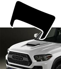 MATTE BLACK cover decal for hood 2015 2016 2017 2018 Toyota Tacoma TRD Sport Pro
