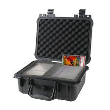 Graded Card Storage Box PSA BGS SGC One Touch Medium Travel Size Waterproof Case