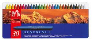 Caran d´Ache Neocolor I - Wachskreide 30er Set