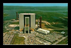 DR JIM STAMPS US APOLLO SATURN V JOHN F KENNEDY SPACE CENTER POSTCARD FLORIDA