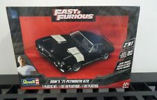 Revell 1/24 Fast & Furious Dom's 1971 Plymouth GTX (2 in 1) RMX4477-NEW
