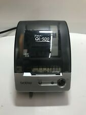 Brother QL-500 P-Touch Manual-Cut Label Printer Used Tested Working w/labels