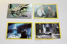C.1992 Batman Returns Panini (3) Stickers + One Rare Foil Chase Sticker Lot #04
