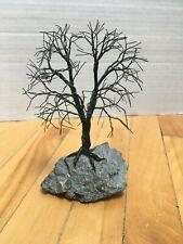 Tree Sculpture Metal Wire Handmade Contemporary Modern Balpha 1992