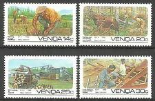 Venda - Forstwirtschaft Satz postfrisch 1986 Mi. 142-145