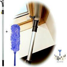 WinHux® Telescopic 2m Window Pole to Control VELUX® & Duster Head