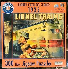 Lionel Trains Lionel Catalog Series 1935 Jigsaw Puzzle 300 Pieces