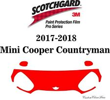 3M Scotchgard Paint Protection Film Pro Series 2017 2018 Mini Cooper Countryman