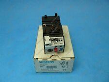 Siemens 3UA5000-0G Overload Relay 0.4-0.63 Amps 3TF/CRL0F 30/31/40/41 New