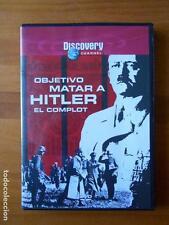 DVD OBJETIVO MATAR A HITLER - EL COMPLOT - DISCOVERY CHANNEL - COMO NUEVA (R5)