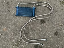 Trust GReddy 10 Row Oil Cooler with Braided Lines