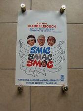 Ancienne affiche Belge - cinéma film - SMIC SMAC SMOC (Claude Lelouch) - 1971