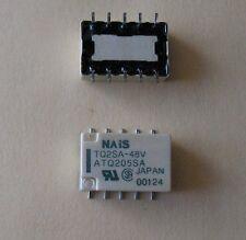 NAIS TQ2SA-48V LOW-PROFILE RELAYS SMD (4 PCS)