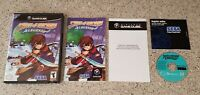 Skies of Arcadia Legends Nintendo GameCube Wii Complete lot Manual CIB TESTED !!