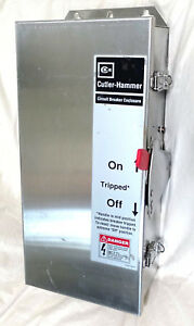 WFDN100 *NEW* 4/4X STAINLESS STEEL BREAKER ENCLOSURE CUTLER-HAMMER WESTINGHOUSE
