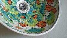 Porcelain wash basin water lotus vanity top basin bathroom sink FREE POST
