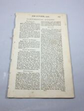 Mutiny on the Bounty and other Articles - Rare 1790 Boston Newspaper