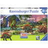 Ravensburger 200 XL Jigsaw In the Land of Dinosaurs Panorama Puzzle VGC