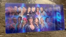 WWE SMACKDOWN 1000 COLLECTOR TICKET COMMEMORATIVE 3D OCTOBER 16 2018 NOT VALID