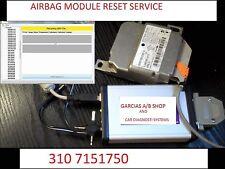ALL SUBARU UP TO 2018 AIRBAG  MODULE  COMPUTER SDM RCM SAS ACU RESET SERVICE