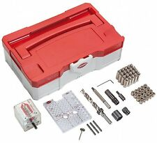 INVIS Mx2 Joinery System Invisible Fastener Starter Kit, All Included by Lamello