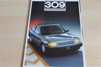 110491) Peugeot 309 Prospekt 1987