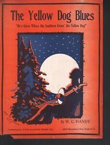 Yellow Dog Blues 1919 W C Handy Sheet Music