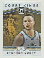2017-18 Donruss Optic COURT KINGS #35 STEPHEN CURRY Warriors QTY AVAILABLE