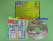 CD ROCKSTAR 19 compilation PROMO 1992 ARETHA FRANKLIN GLADYS KNIGHT*SIMONE(C21*)