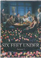 SIX FEET UNDER  -  Intégrale saison 3 - Coffret 1 boitier Clasique - 5 DVD- NEUF