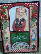 1992 PECK-GANDRE LITTLE RED RIDING HOOD PAPER DOLLS UNUSED!