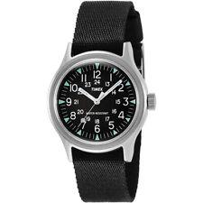 Timex Camper 36 mm Black Dial Watch TW2R58300