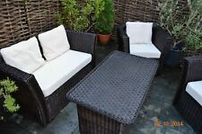 Weidenmöbel MODERNO, Lounge-Couch, 2-Sitzer, 134 x 66 x 70 cm, Gartenmöbel Sofa