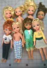 Lot of 8 dolls 4-ever (forever) Best Friends Club 2004 MGA Entertainment 9.5""