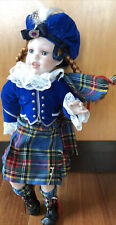 Danbury Mint Scottish Doll By Karen Scott 1994 18�
