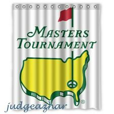Masters Tournament Major Championship Golf Custom Shower Curtain 60 x 72 Inch