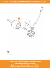 Yamaha 2SH8145000 Flywheel Rotor Assembly
