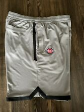 Nike Dri-fit NBA Detroit Pistons Team Issued Shorts Av1804-002 Size Mens XL