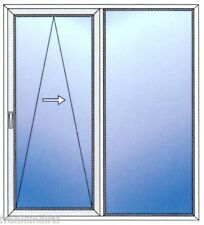 Drutex Schiebe-Kipp-Tür mit Sicherheitsbeschlag RC2 (WK2) - Maßanfertigung!