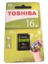 BNIP - Toshiba 16GB SD Memory Card SDHC IHS-I N203 - For Full HD Video Recording