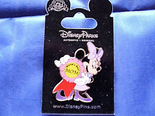Disney * MINNIE - WORLDS BEST MOM * New on Card Retired Character Trading Pin