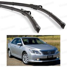 "26"" 18"" 2x Windscreen Wiper Blade Bracketless for Toyota Camry/Aurion 2012-2016"