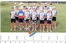 Team BANESTO 92 Cycling cyclist MIGUEL INDURAIN PEDRO DELGADO TOUR de FRANCE