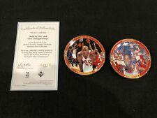 Michael Jordan Bulls Upper Deck  Greatest Moments Bulls in 5 Mini Plates