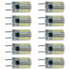 Sale 10pc G8 Bi-Pin T5 64 3014 SMD LED Light Bulb Dimmable Lamp White 6500K/120V