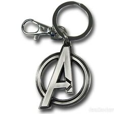 OFFICIAL AWESOME MARVEL'S AVENGERS ASSEMBLE 'A' SYMBOL KEYRING *BRAND NEW*