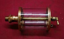 """Lunkenheimer No 6 Brass Oiler 1/2"""" Npt Gas Engine Motor Op25.4"""