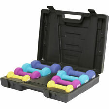 DTX Fitness DTX233 10kg Dumbbell Hand Weight Set with Carry Case