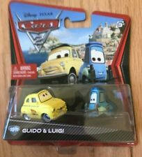 Disney Pixar Cars 2 Race Team Luigi and Guido - New In Box
