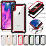 For iPhone X XR XS MAX 6 7 8 Plus Clear Case Cover Shockproof Heavy Duty Hybrid
